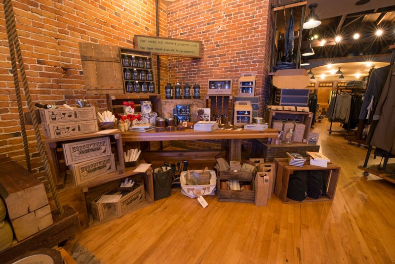 fccca6b152109 ... A corner display of craft beer kits and cocktail accessories at our  Seacoast NH gift shops